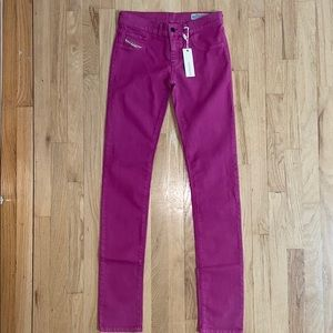 """Diesel women's """"Livier"""" jeggings, new with tags"""